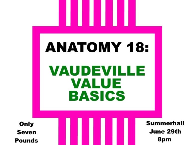 Vaudeville Value Event